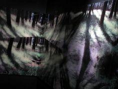 Balbina Lightowler Bosque infinito / instalación Palais de Glace, Buenos Aires, Argentina / 2013 www.lightowler.com.ar