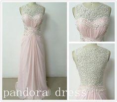 Custom Beach Sweetheart Floor-length Chiffon Long Prom dress/ lace prom dress,bridesmaid dress,Formal Dress CONSIDERING THIS...