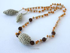 Crochet necklace by 100crochetnecklaces