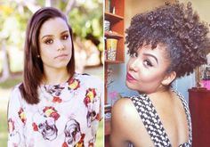 Ana Lídia Lopes | 10 antes e depois que vão te incentivar se você está em transição capilar