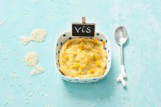 Opperdepop: baby's visschoteltje met groenten en rijst 7-9 mnd - Recept - Allerhande
