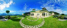 Feng Shui Garten - Wellnessresidenz Schalber, dem Wellnesshotel in Serfaus-Fiss-Ladis