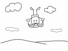 Falling Snoopy, Fall, Fictional Characters, Drawings, Autumn, Fantasy Characters
