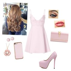 """Lovely Pink 2"" by the-ravenclaw-princes ❤ liked on Polyvore featuring Giambattista Valli, Valentino, LASplash and Ted Baker"