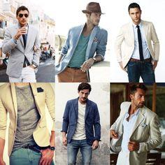 blazer verão para homens