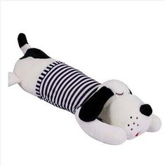110 cm perro de peluche a rayas perro adorable muñeca almohada para dormir Sock Dolls, Origami Box, Cushions, Pillows, Kids Writing, Loom Knitting, Needle And Thread, Softies, Kids And Parenting