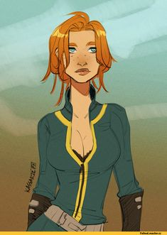 """kassarie-art: """" My Courier from Fallout: New Vegas. Started playing it again and wanted to doodle my character. Fallout Tips, Fallout Funny, Fallout Fan Art, Fallout Concept Art, Fallout Comics, Fallout Posters, Character Modeling, Game Character, Skyrim"""