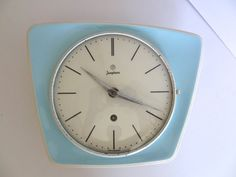 Fantastic Junghans Ceramic wall clock Mid by ArthursTreasureChest