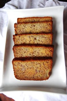 I know you've been searching, just as I have, for the perfect banana bread recipe. There are breads out there that use chocolate chips, various nuts, pumpkin, bacon, and all kinds of other wo…