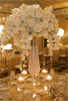 Tall Flower Centerpieces (9)