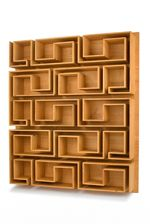 Maze Bookcase. This may be purchased on ecofirstart.com