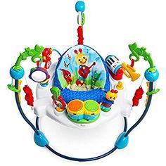 e68d8649b6db Amazon.com   Disney Baby Finding Nemo Sea of Activities Jumper ...