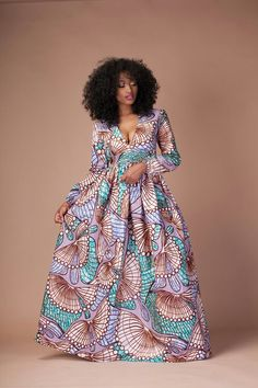 Looking good has always the concern of every lady, here are some lovely and adorable ankara gown styles that will make you look sweet for any occasion or gathering you& The post Stunning ankara gowns to rock appeared first on DarlingNaija. African Inspired Fashion, African Print Fashion, Africa Fashion, African Print Dresses, African Fashion Dresses, African Dress, African Prints, Dress Fashion, African Attire