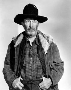 """MY DARLING CLEMENTINE (1946) - Walter Brennan as """"Old Man"""" Clanton - Directed by John Ford - 20th Century-Fox - Publicity Still."""