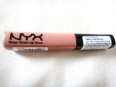 nyx megashine lip gloss in natural