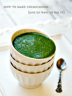 How to make chimichurri {and 20 ways to use it} | The Wicked Noodle