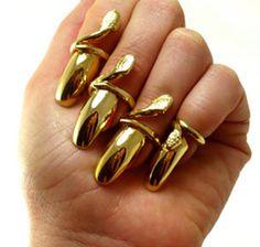 Fingernail Rings, Hot!