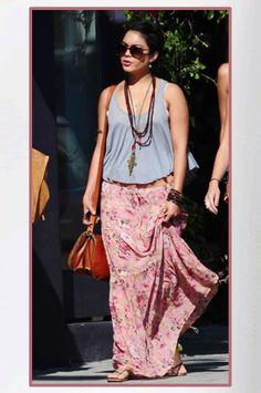 Buy it: Vanessa Hudgens' Pink Floral Skirt