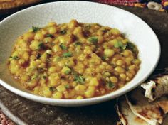Smoky Yellow Split Peas (Tamatar Chana Dal) from 'Indian Cooking ...