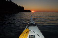 Overnights, Lake Superior kayaking