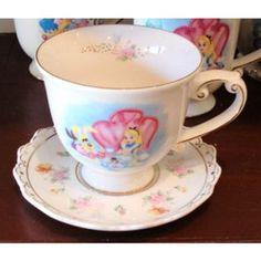 Alice in Wonderland Tea Cup & Saucer