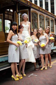 we could wear.... YELLOW SHOES  Molle Bridals is a bridal boutique in Palm Beach Gardens, Florida