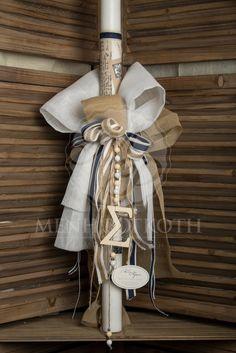Baby Baptism, Christening, Baptism Ideas, Balloon Decorations, Baby Shower Decorations, Palm Sunday, Handmade Candles, Ladder Decor, Burlap