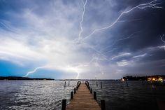 Lightning Over Fishing Bay - Deltaville, VA