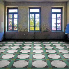 iGattipardi, great new porcelain tile series by Italian manufacturer 14OraItaliana