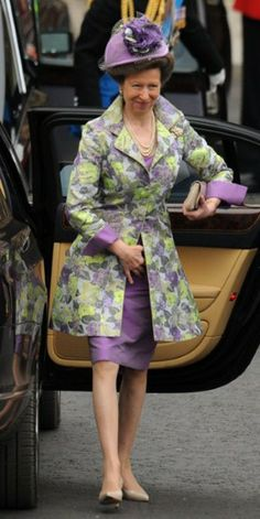 Guests at Wedding: Princess Anne