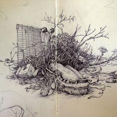 pat perry sketchbook moleskine