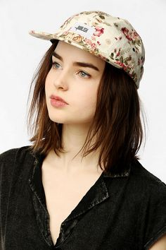 Want: floral baseball cap for summer!
