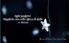 Nero come la notte dolce come l'amore caldo come l'inferno: ogni passione vissuta in una notte piena di stelle...