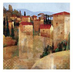 Tuscan Hillside - Keith Mallett