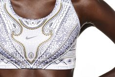 Nike Tight of the Moment - Nike Arctic Monarch Sports Bra