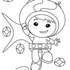 geo team umizoomi coloring pages Coloring Pages Pinterest