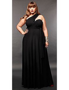 The Monif C Marilyn Long Convertible Dress ... perfection. I don't think I could pull this one off.