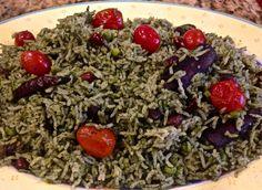 Palak Pulao Spinach Rice
