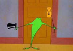 One Froggy Evening Looney Tunes Merrie Melodies.Michigan J. Cartoon Gifs, Cartoon Shows, Comedy Short Films, Nostalgic Music, Merrie Melodies, Saturday Morning Cartoons, Music Online, Favorite Cartoon Character, Title Card