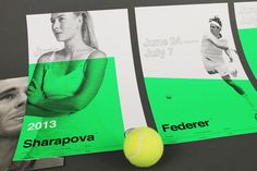 We've catalogued some of the best, inspiringly creative, modern graphic design projects influenced or inspired by the Swiss Style. Graphic Design Projects, Modern Graphic Design, Graphic Design Inspiration, International Typographic Style, Tennis, Swiss Style, Blue Poster, Swiss Design, The Championship