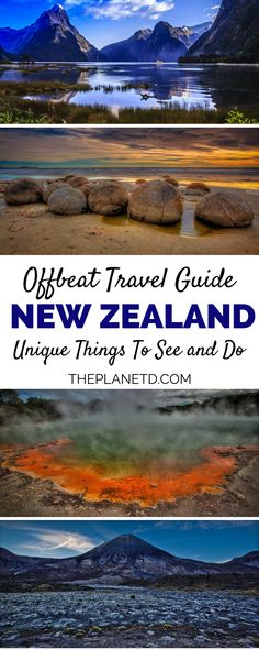 15 unique things to do in the adventure capital of the world: New Zealand. Visit the locations where Lord of the Rings was filmed, go sky diving with views of the North and South Islands, and take in the spectacular landscape. Go bungee jumping in Queenstown, the very city where it was invented, or learn about the Maori culture on a tour. Bucket list travel in New Zealand. | Blog by the Planet D #NewZealand