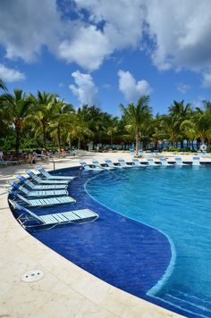 Paradise Beach, Cozumel, Mexico  @Jenny Burke.  Here is the pool at the Paradise Beach Club!!!