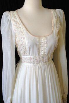 70's Gunne Sax Prairie Chic Dress