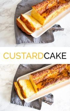 Custardcake recept - de Kokende Zussen