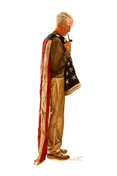 Norman Rockwell by Alex Ross.
