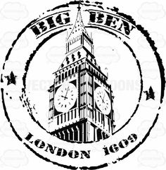 Big Ben London Black And White Travel Stamp Circle I Ef B F - Big Ben London Black And White Travel Stamp Circle Air Cancellation Correspondence Delivery Fashioned Killer Letter Mail Old Package Passport Pdf Postal Postcard Postmark Retro Rubber Airmail Envelopes, London Drawing, Travel Stamp, Big Ben London, Passport Stamps, Custom Stamps, Travel Scrapbook, Stamp Collecting, Vintage Travel