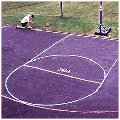 25 Best Basketball Court Marking Kits Images Free Throw