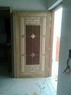 Flush Door Design, Single Door Design, Wooden Front Door Design, Double Door Design, Door Gate Design, Wooden Front Doors, Pooja Room Door Design, Door Design Interior, Latest Door Designs
