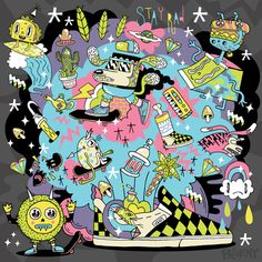 Artist FRENEMY says STAY RAD this summer in your Vans!!