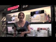 Bernina University 2013 - Introducing Bernina 880, Bernina 560, Bernette Chicago 7, Bernina L 460 - YouTube